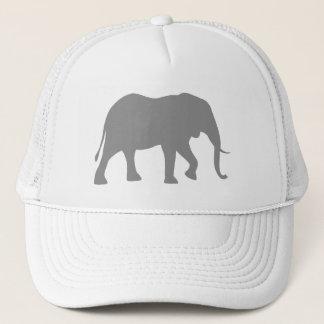 Gorra De Camionero Silueta del elefante africano