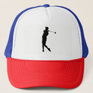 Gorra De Camionero Silueta del golfista