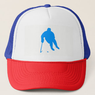 Gorra De Camionero Silueta del hockey