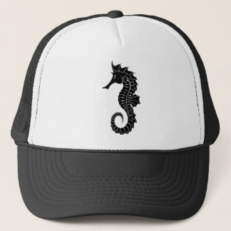 Gorra De Camionero Silueta del Seahorse