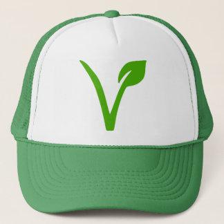 Gorra De Camionero símbolo vegetariano, vegetarianos, veggie,