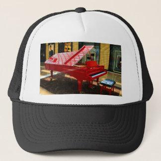 Gorra De Camionero Simplemente rojo: piano de cola