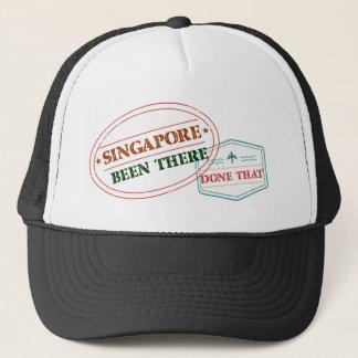 Gorra De Camionero Singapur allí hecho eso