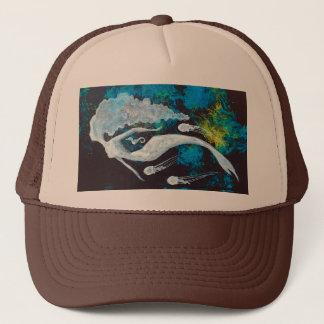 Gorra De Camionero Sirena con las medusas y el Seahorse