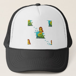 Gorra De Camionero sirena del emoji