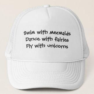 Gorra De Camionero Sirenas, hadas, y unicornios