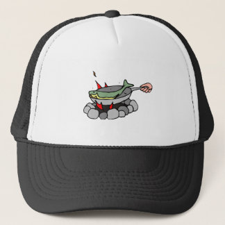 Gorra De Camionero Skillet de los pescados