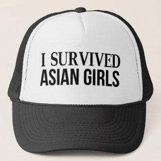Gorra De Camionero Sobreviví a chicas asiáticos