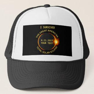 Gorra De Camionero Sobreviví el eclipse solar total 8.21.2017 los