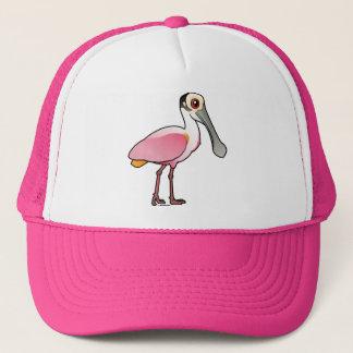 Gorra De Camionero Spoonbill rosado lindo