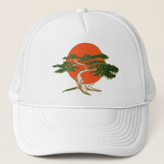 Gorra De Camionero Sr. Miyage Bonsai Trucker Hat de Karate Kid