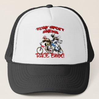 Gorra De Camionero ¡Su deporte chupa! Raza BMX