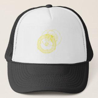Gorra De Camionero Sun y astronomía inquisitiva de las órbitas de la