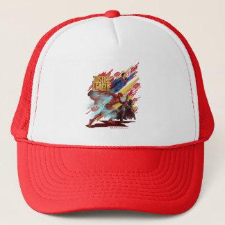Gorra De Camionero Superhombre de la liga de justicia el |, flash, y