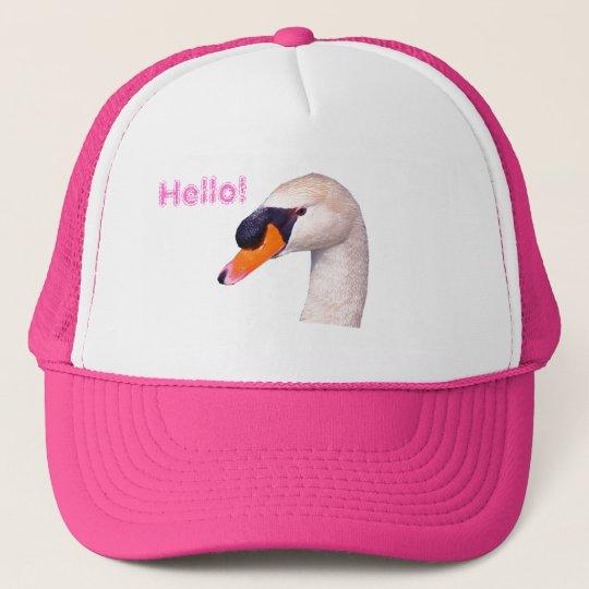 Gorra De Camionero Swan Hello!