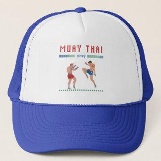 Gorra De Camionero Tailandés de Muay del pixel
