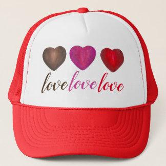 Gorra De Camionero Tarjeta del día de San Valentín en embalaje