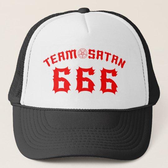 Gorra De Camionero Team Satan 666