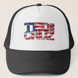 Gorra De Camionero Ted Cruz 2016 (bandera)