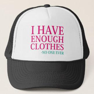 Gorra De Camionero Tengo bastante ropa