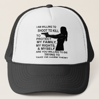 Gorra De Camionero Tengo lanzamiento dispuesto para proteger a mi