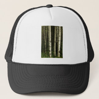Gorra De Camionero Textura de un retrato del bosque