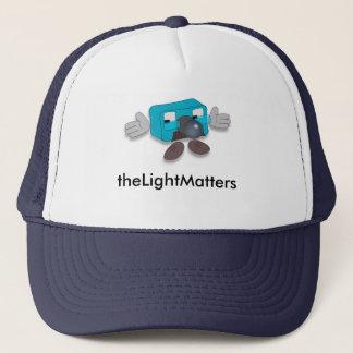 Gorra De Camionero theLightMatters -- Casquillo de profesor Pixel