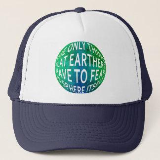 Gorra De Camionero Tierra no completamente