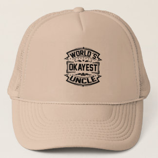Gorra De Camionero Tío de Okayest del mundo