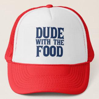 Gorra De Camionero Tipo con el azul de la comida