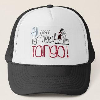 Gorra De Camionero Toda lo que usted necesita es cita del tango