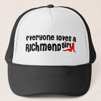 Gorra De Camionero Todos ama a un chica de la colina de Richmond
