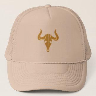 Gorra De Camionero Toro del oro con los cuernos largos