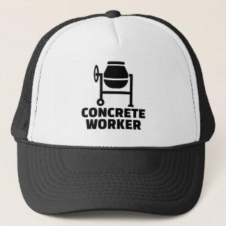 Gorra De Camionero Trabajador concreto
