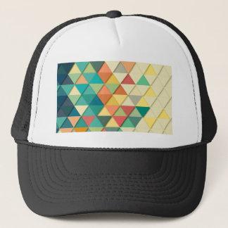 Gorra De Camionero Triángulo geométrico