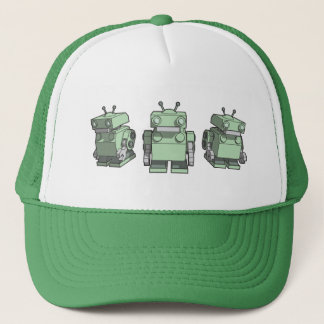 Gorra De Camionero Trío del robot