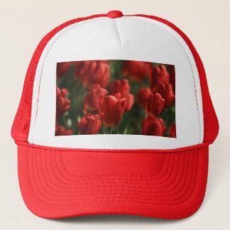 Gorra De Camionero Tulipanes rojos