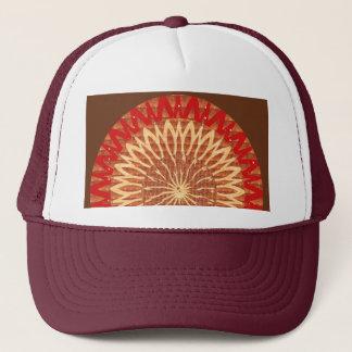 Gorra De Camionero Túnel cósmico de Chakra del símbolo curativo de