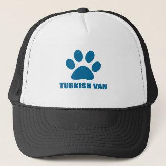 GORRA DE CAMIONERO TURKISH VAN CAT DESIGNS