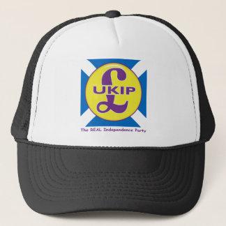 Gorra De Camionero UKIP Escocia el fiesta real de la independencia