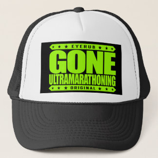Gorra De Camionero ULTRAMARATHONING IDOS - Soy ultra corredor de