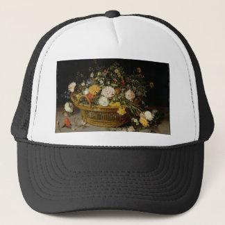 Gorra De Camionero Una cesta de flores - Jan Brueghel el más joven