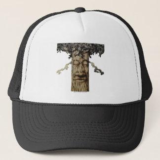 Gorra De Camionero Una cubierta poderosa del árbol
