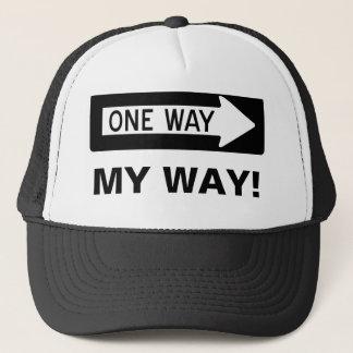 Gorra De Camionero ¡Una manera mi manera!