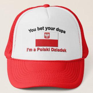 Gorra De Camionero Usted apuesta su dupa que soy Polski Dziadek