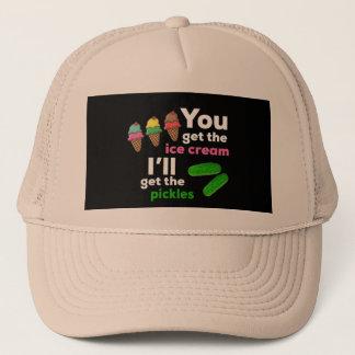 Gorra De Camionero Usted consigue el helado, yo conseguirá las