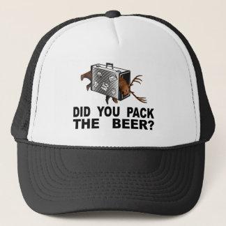Gorra De Camionero ¿Usted embaló la cerveza?