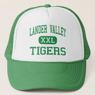 Gorra De Camionero Valle del Lander - tigres - alto - Lander Wyoming