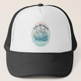 Gorra De Camionero Velero del lago Michigan