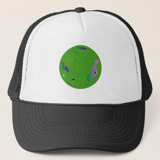Gorra De Camionero Verde del ÓPALO. Ilustraciones originales